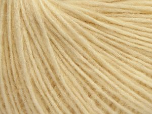Fiber Content 66% Merino Wool, 34% Organic Cotton, Brand Ice Yarns, Cream, fnt2-68980