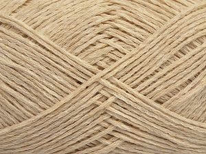 Fiber Content 72% Cotton, 28% Polyamide, Brand Ice Yarns, Dark Cream, fnt2-68992