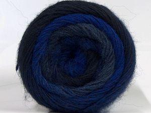 İçerik 55% Akrilik, 25% Yün, 20% Alpaka, Navy, Brand Ice Yarns, Grey, Blue Shades, fnt2-69053