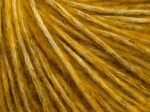 Fiber Content 64% Cotton, 22% Alpaca Superfine, 14% Wool, Brand Ice Yarns, Gold, fnt2-69056