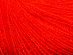 Fiber Content 50% Merino Wool, 25% Acrylic, 25% Alpaca, Neon Orange, Brand Ice Yarns, Yarn Thickness 2 Fine Sport, Baby, fnt2-69097