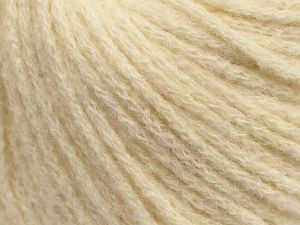 Fiber Content 36% Polyamide, 31% Extrafine Merino Wool, 30% Baby Alpaca, 3% Elastan, Brand Ice Yarns, Cream, fnt2-69129