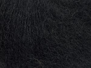 Fiber Content 47% SuperKid Mohair, 31% Superwash Extrafine Merino Wool, 22% Polyamide, Brand Ice Yarns, Black, fnt2-69133