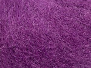 Fiber Content 47% SuperKid Mohair, 31% Superwash Extrafine Merino Wool, 22% Polyamide, Purple, Brand Ice Yarns, fnt2-69144
