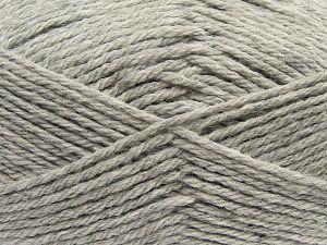 Fiber Content 70% Dralon, 30% Alpaca, Light Grey, Brand Ice Yarns, fnt2-69179