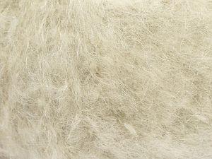 Fiber Content 41% Kid Mohair, 41% Alpaca Superfine, 2% Elastan, 16% Nylon, Light Water Green, Brand Ice Yarns, fnt2-69182