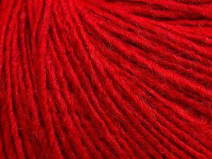 Fiber Content 50% Merino Wool, 25% Acrylic, 25% Alpaca, Red, Brand Ice Yarns, fnt2-69242