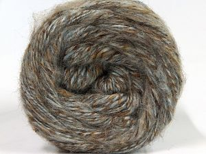 İçerik 50% Yün, 30% Akrilik, 20% Alpaka, Light Grey, Brand Ice Yarns, Camel Shades, fnt2-69291