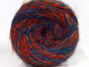 Fiber Content 50% Wool, 30% Acrylic, 20% Alpaca, Turquoise, Red, Purple, Brand Ice Yarns, Gold, fnt2-69293