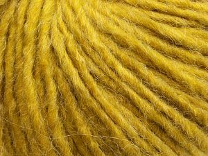 Fiber Content 50% Merino Wool, 25% Alpaca, 25% Acrylic, Olive Green, Brand Ice Yarns, fnt2-69355