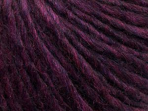 Fiber Content 50% Merino Wool, 25% Alpaca, 25% Acrylic, Purple, Brand Ice Yarns, fnt2-69359