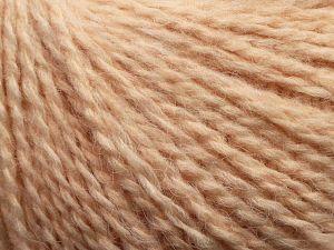 Fiber Content 50% Acrylic, 37% Nylon, 3% Elastan, 10% Angora, Powder Pink, Brand Ice Yarns, fnt2-69367
