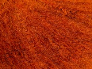Fiber Content 70% Acrylic, 20% Polyester, 10% Wool, Orange, Brand Ice Yarns, fnt2-69379