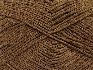 Fiber Content 100% Cotton, Brand Ice Yarns, Brown, fnt2-69411