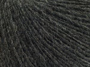 Fiber Content 50% Merino Wool, 25% Alpaca, 25% Acrylic, Brand Ice Yarns, Dark Grey, fnt2-69423