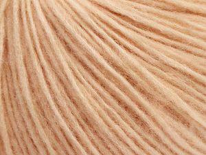 Fiber Content 66% Merino Wool, 34% Organic Cotton, Light Salmon, Brand Ice Yarns, fnt2-69449