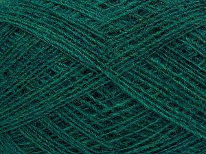 Fiber Content 50% Merino Wool, 25% Acrylic, 25% Alpaca, Brand Ice Yarns, Emerald Green, fnt2-69460