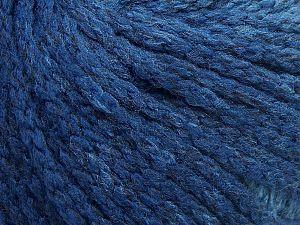 Fiber Content 64% Acrylic, 23% Wool, 13% Polyamide, Brand Ice Yarns, Blue Shades, fnt2-69525