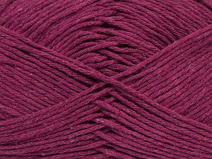 Fiber Content 100% Cotton, Brand Ice Yarns, Dark Fuchsia, fnt2-69528