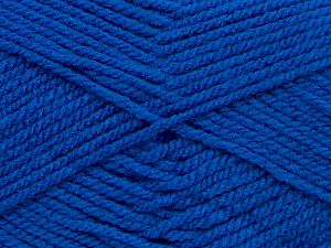 Worsted Fiber Content 100% Acrylic, Saxe Blue, Brand Ice Yarns, fnt2-69542