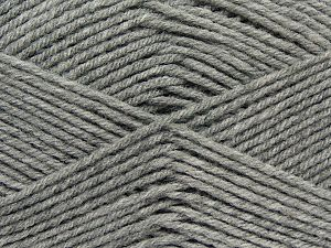 Cold Rinse. Short spin. Do not wring. Do not iron. Dry cleanable. Do not bleach. İçerik 50% Akrilik, 50% Polyamid, Light Grey, Brand Ice Yarns, fnt2-69545