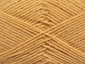 Cold Rinse. Short spin. Do not wring. Do not iron. Dry cleanable. Do not bleach. İçerik 50% Polyamid, 50% Akrilik, Milky Brown, Brand Ice Yarns, fnt2-69546