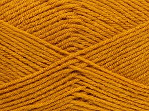 Cold Rinse. Short spin. Do not wring. Do not iron. Dry cleanable. Do not bleach. İçerik 50% Polyamid, 50% Akrilik, Brand Ice Yarns, Gold, fnt2-69547