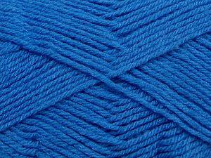 Cold Rinse. Short spin. Do not wring. Do not iron. Dry cleanable. Do not bleach. İçerik 50% Polyamid, 50% Akrilik, Brand Ice Yarns, Blue, fnt2-69554