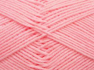 Cold Rinse. Short spin. Do not wring. Do not iron. Dry cleanable. Do not bleach. İçerik 50% Polyamid, 50% Akrilik, Light Pink, Brand Ice Yarns, fnt2-69557