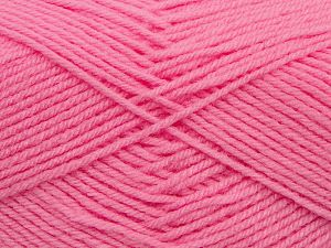 Cold Rinse. Short spin. Do not wring. Do not iron. Dry cleanable. Do not bleach. İçerik 50% Akrilik, 50% Polyamid, Pink, Brand Ice Yarns, fnt2-69559