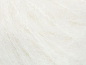 Fiber Content 45% Acrylic, 25% Wool, 20% Mohair, 10% Polyamide, White, Brand Ice Yarns, fnt2-69578