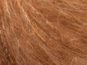 Fiber Content 45% Acrylic, 25% Wool, 20% Mohair, 10% Polyamide, Brand Ice Yarns, Copper, fnt2-69582