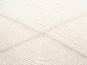 Cold Rinse. Short spin. Do not wring. Do not iron. Dry cleanable. Do not bleach. İçerik 50% Polyamid, 50% Akrilik, White, Brand Ice Yarns, fnt2-69702