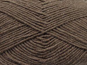 Fiber Content 60% Merino Wool, 40% Acrylic, Brand Ice Yarns, Dark Camel, fnt2-69703