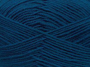 Fiber Content 60% Merino Wool, 40% Acrylic, Teal, Brand Ice Yarns, fnt2-69704
