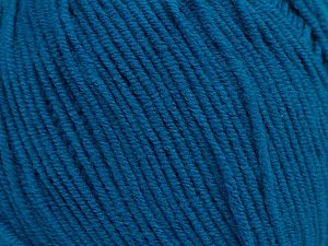 Fiber Content 50% Acrylic, 50% Cotton, Turquoise, Brand Ice Yarns, fnt2-69767