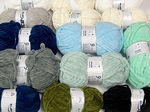 Chenille Types In this list; you see most recent 50 mixed lots. <br> To see all <a href=&/mixed_lots/o/4#list&>CLICK HERE</a> (Old ones have much better deals)<hr> İçerik 100% Mikro Fiber, Brand Ice Yarns, fnt2-69771