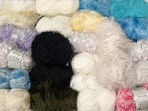 Leftover Yarns In this list; you see most recent 50 mixed lots. <br> To see all <a href=&/mixed_lots/o/4#list&>CLICK HERE</a> (Old ones have much better deals)<hr> Brand Ice Yarns, fnt2-69791
