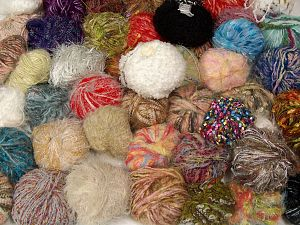 Leftover Yarns In this list; you see most recent 50 mixed lots. <br> To see all <a href=&/mixed_lots/o/4#list&>CLICK HERE</a> (Old ones have much better deals)<hr> Brand Ice Yarns, fnt2-69793