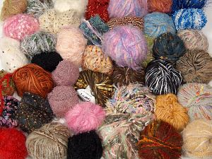 Leftover Yarns In this list; you see most recent 50 mixed lots. <br> To see all <a href=&/mixed_lots/o/4#list&>CLICK HERE</a> (Old ones have much better deals)<hr> Brand Ice Yarns, fnt2-69797