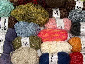 Leftover Yarns In this list; you see most recent 50 mixed lots. <br> To see all <a href=&/mixed_lots/o/4#list&>CLICK HERE</a> (Old ones have much better deals)<hr> Brand Ice Yarns, fnt2-69802