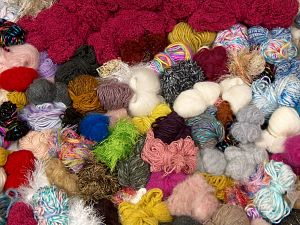 Leftover Yarns In this list; you see most recent 50 mixed lots. <br> To see all <a href=&/mixed_lots/o/4#list&>CLICK HERE</a> (Old ones have much better deals)<hr> Brand Ice Yarns, fnt2-69823