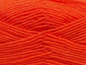Fiber Content 60% Acrylic, 40% Wool, Orange, Brand Ice Yarns, fnt2-69825
