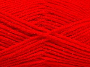 Fiber Content 50% Acrylic, 50% Wool, Red, Brand Ice Yarns, fnt2-69833