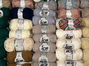 Luxury Yarns In this list; you see most recent 50 mixed lots. <br> To see all <a href=&/mixed_lots/o/4#list&>CLICK HERE</a> (Old ones have much better deals)<hr> Brand Ice Yarns, fnt2-69857