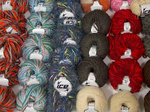 Fancy Yarns In this list; you see most recent 50 mixed lots. <br> To see all <a href=&/mixed_lots/o/4#list&>CLICK HERE</a> (Old ones have much better deals)<hr> Brand Ice Yarns, fnt2-69865