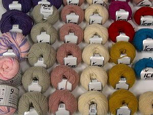 Luxury Yarns In this list; you see most recent 50 mixed lots. <br> To see all <a href=&/mixed_lots/o/4#list&>CLICK HERE</a> (Old ones have much better deals)<hr> Brand Ice Yarns, fnt2-69871