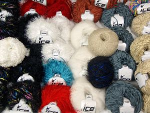 Fancy Yarns In this list; you see most recent 50 mixed lots. <br> To see all <a href=&/mixed_lots/o/4#list&>CLICK HERE</a> (Old ones have much better deals)<hr> Brand Ice Yarns, fnt2-69886
