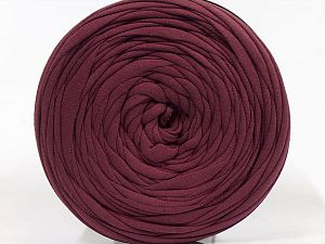 Make handbags,rugs,basket and cushion covers with this genius new-fashion yarn!<p>Since the yarn is made by upcycling fabrics, and because of the nature of the yarn; take the following notes into consideration. </p><ul><li>Fiber content information may vary. Information given about fiber content is approximate. </li><li>The yardage and weight information of the yarn is approximate. </li></ul> Fiber Content 95% Cotton, 5% Elastan, Brand Ice Yarns, Dark Maroon, fnt2-69913