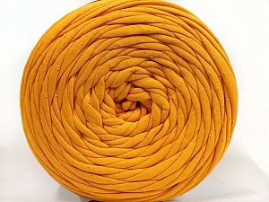 Make handbags,rugs,basket and cushion covers with this genius new-fashion yarn!<p>Since the yarn is made by upcycling fabrics, and because of the nature of the yarn; take the following notes into consideration. </p><ul><li>Fiber content information may vary. Information given about fiber content is approximate. </li><li>The yardage and weight information of the yarn is approximate. </li></ul> Fiber Content 95% Cotton, 5% Elastan, Brand Ice Yarns, Dark Yellow, fnt2-69916